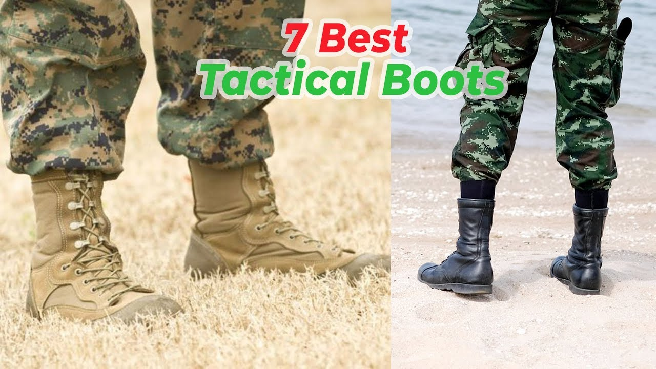 7 Best Tactical Boots you can try – Military Boots for Outdoor