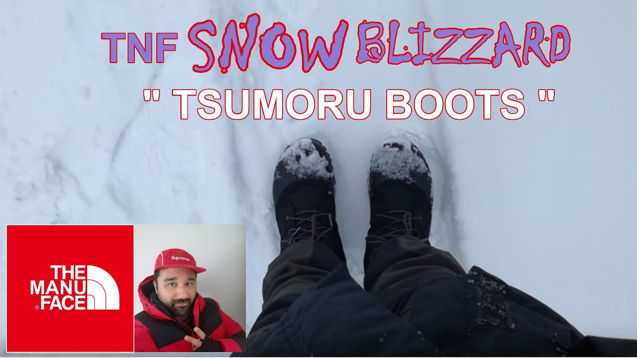 The North Face Tsumoru Boots Review – Part 1