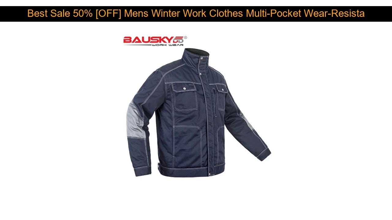 √ Cheap Price 50% [OFF] Mens Winter Work Clothes Multi-Pocket Wear-Resistant Windproof Warmth Plus