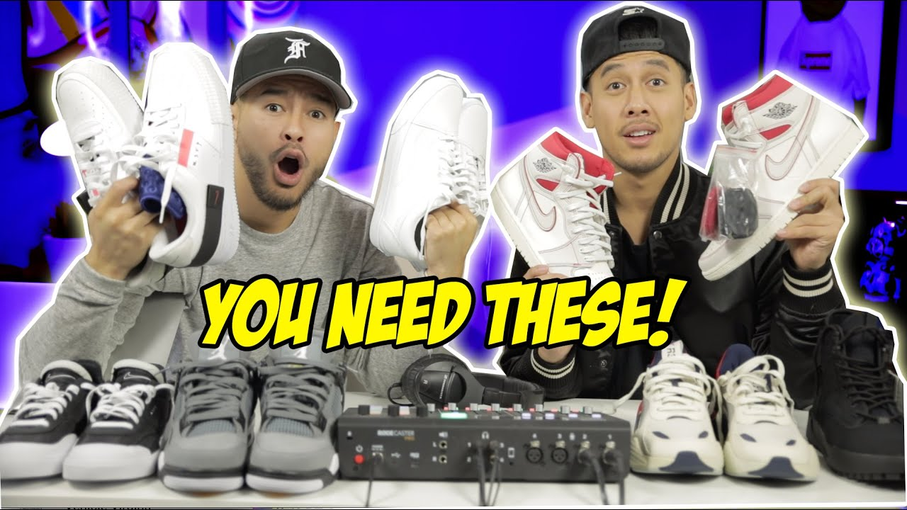 BEST AFFORDABLE SNEAKERS OUT RIGHT NOW! (FALL/WINTER)