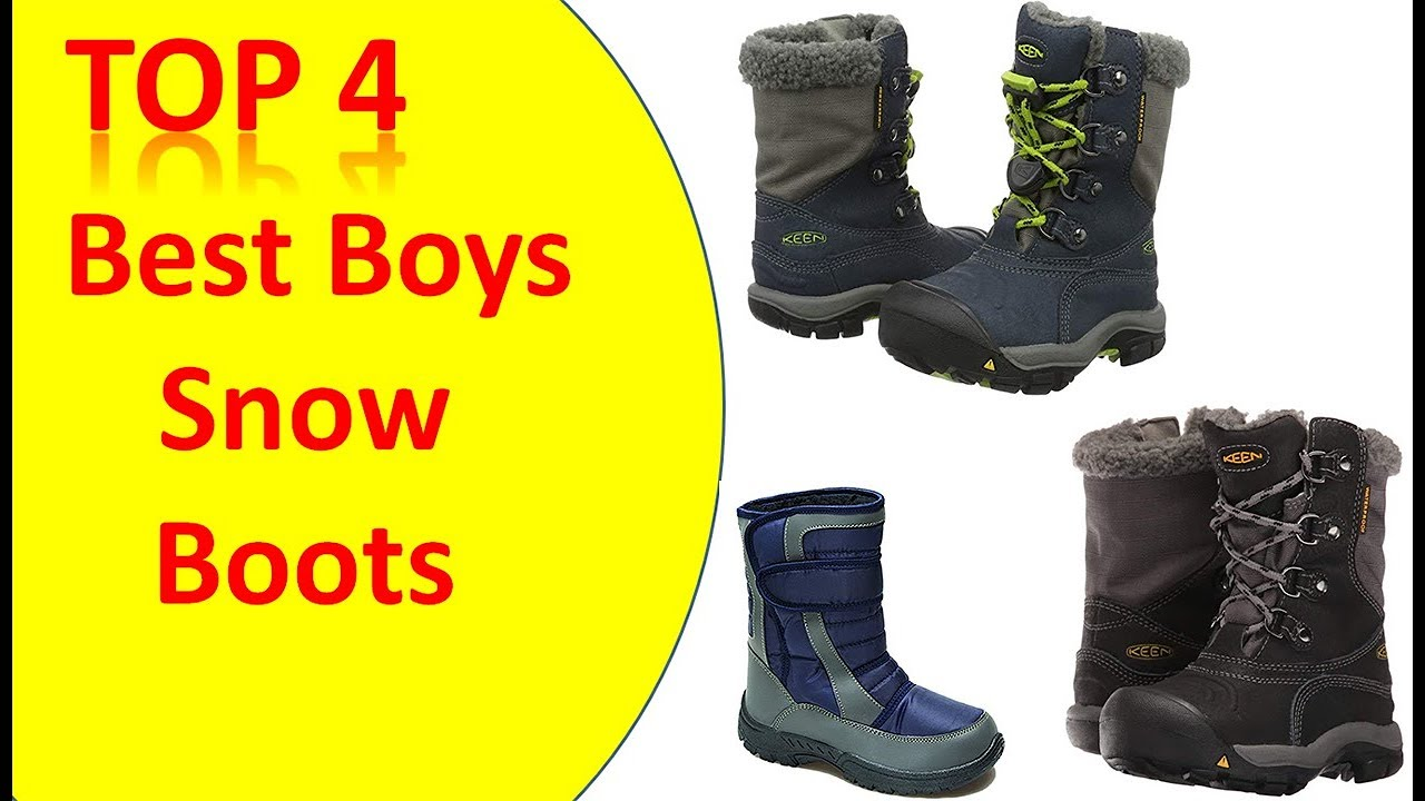 Top 4 Best Boys Snow Boots – Review Boys Snow Boots 2018