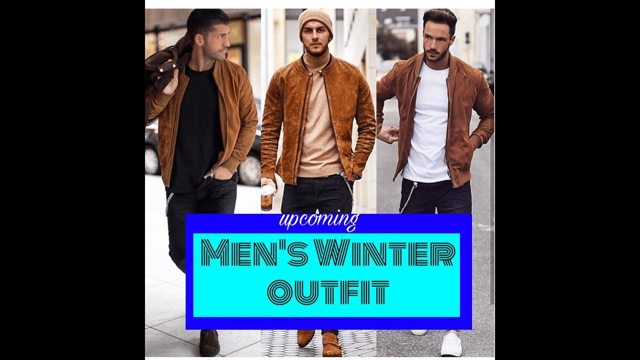 Stylish winter outfit for mens
