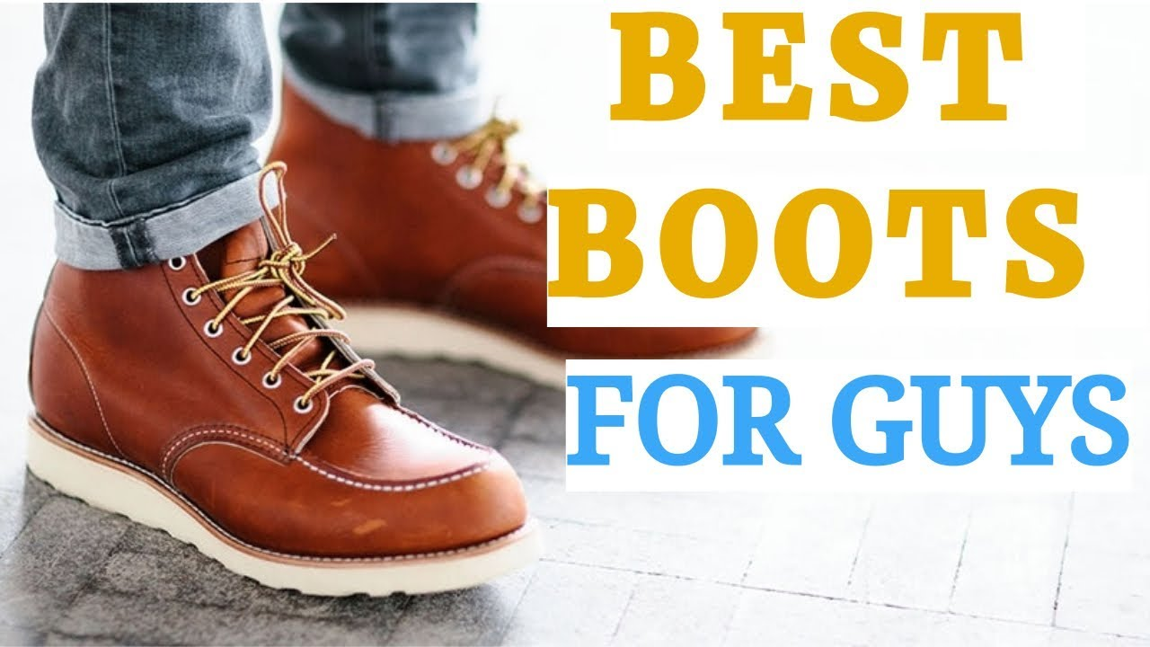Best BOOTS For Guys 2019 | 6 Types Of BOOTS Every GUY Must HAVE | Stylish BOOTS For GUYS 2019!