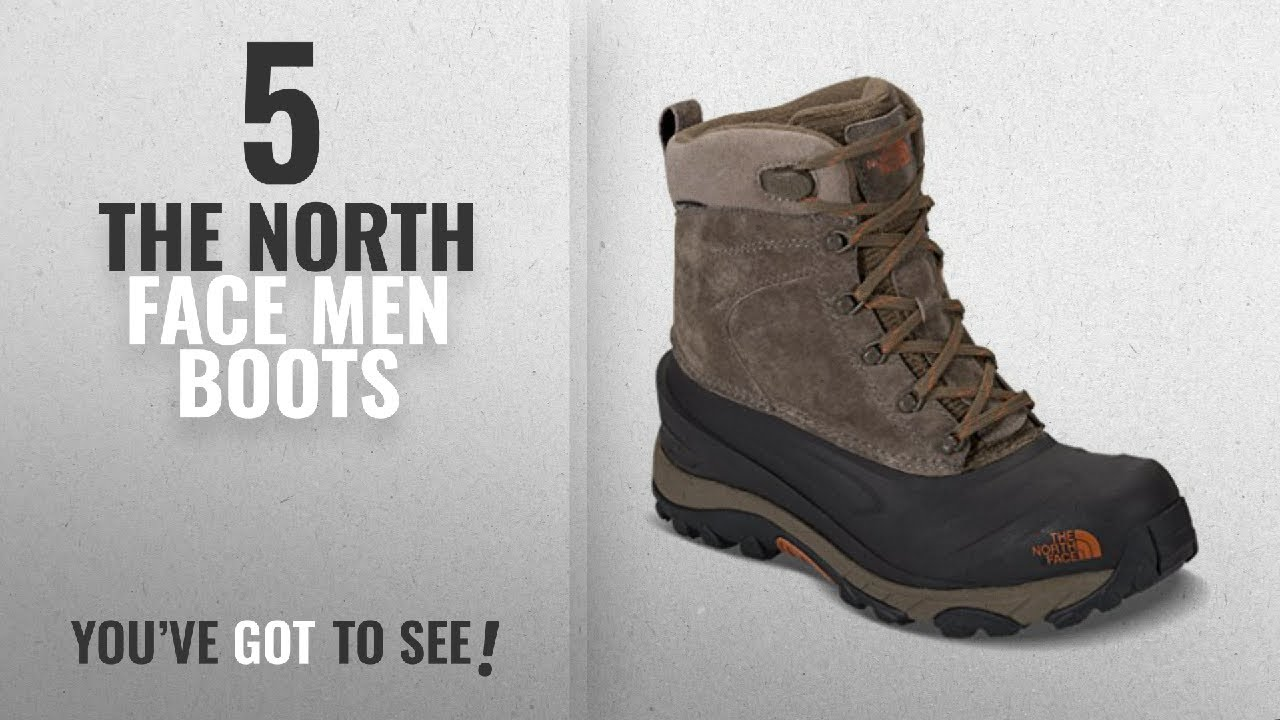 Top 10 The North Face Men Boots [ Winter 2018 ]: The North Face Mens Chilkat III Boot – Mudpack