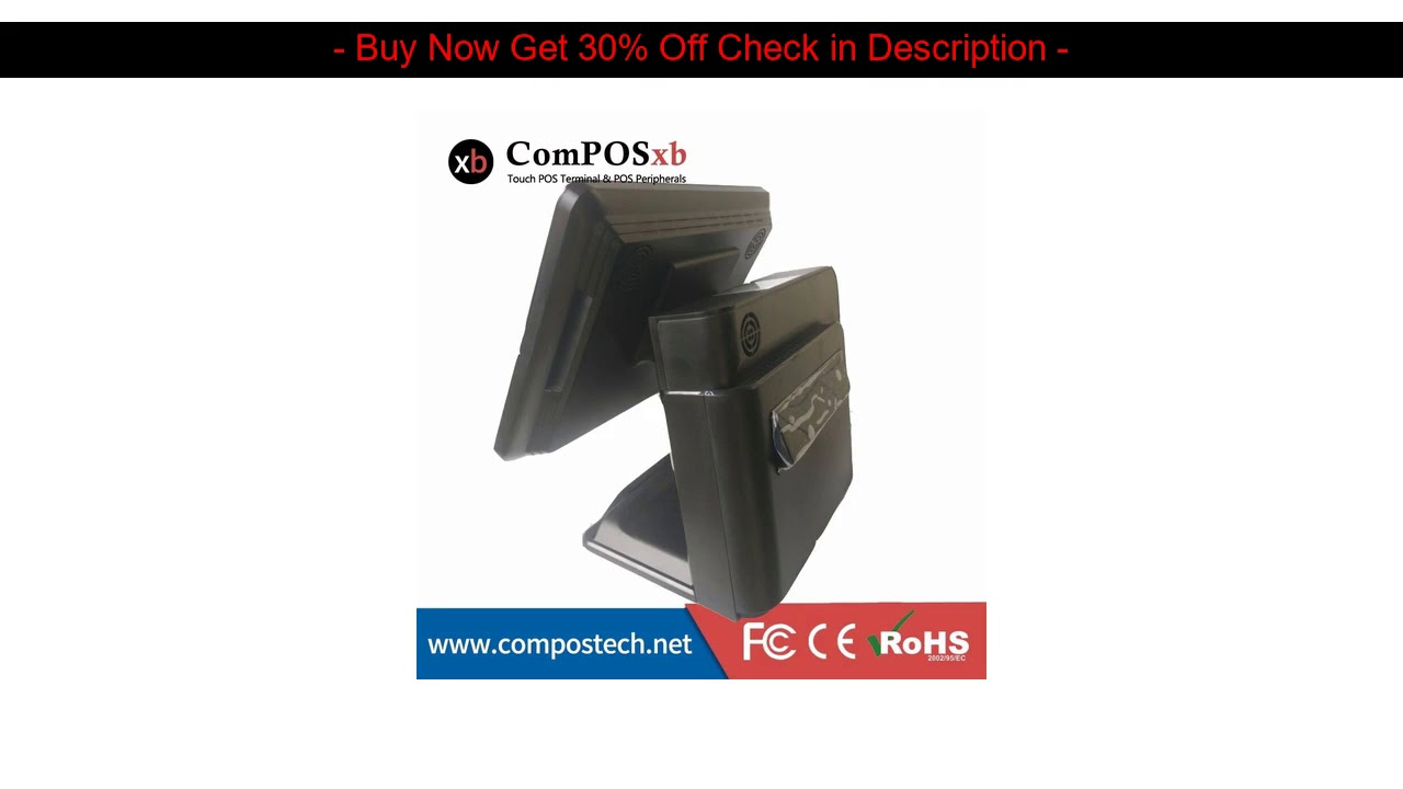 Best Quality Factory Price 15 Inch Restaurant Bar Nightclub POS System POS Terminal With Thermal Pr