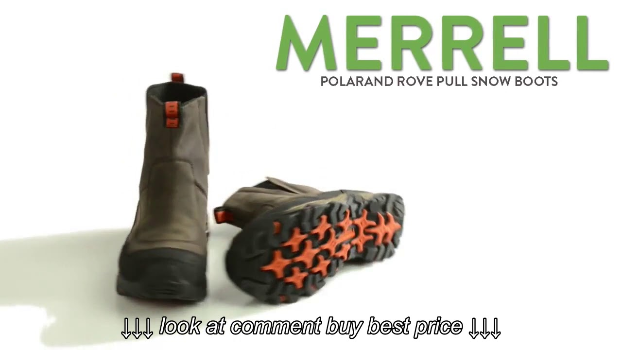 Merrell Polarand Rove Pull Snow Boots   Waterproof For Men