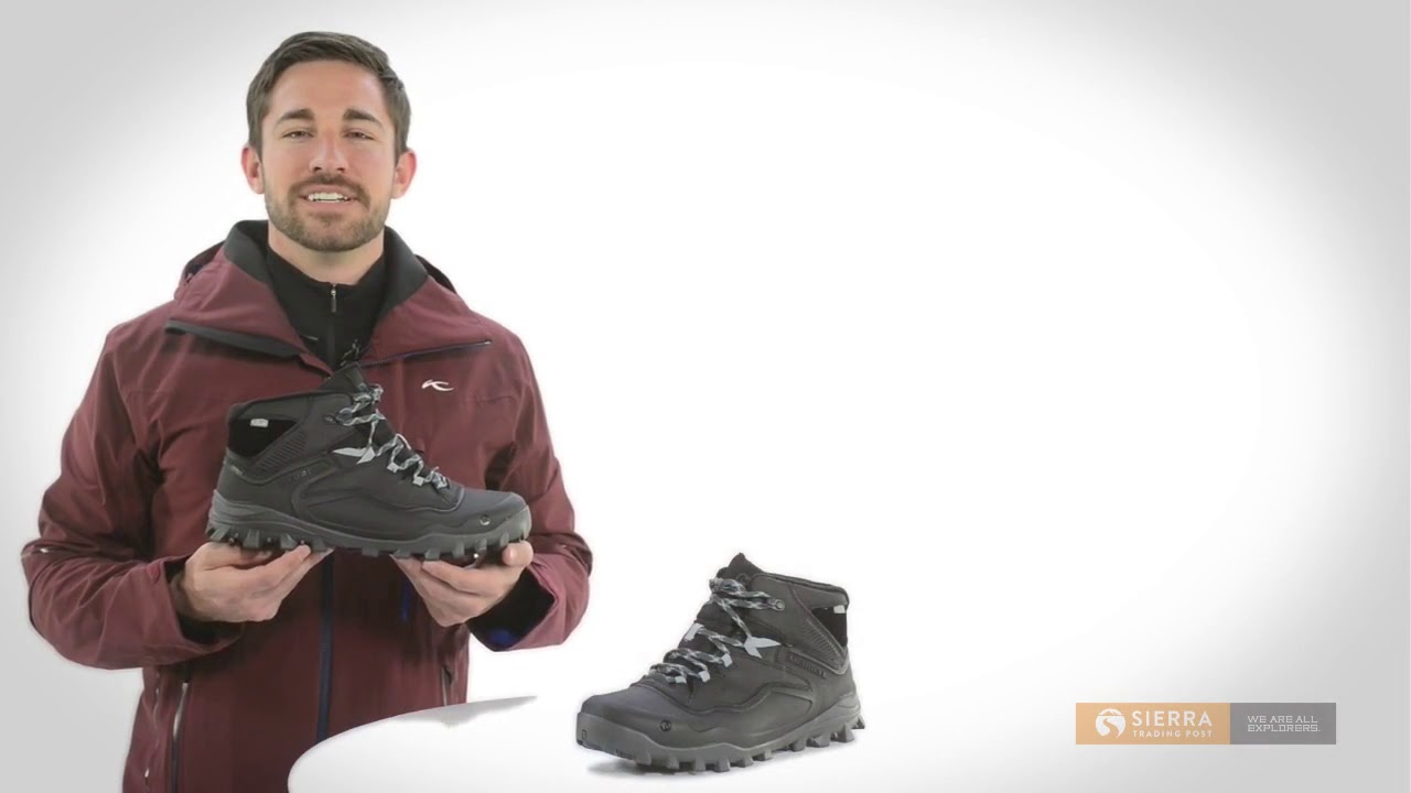 Merrell Fraxion Shell 6 Snow Boots   Waterproof, Insulated For Men