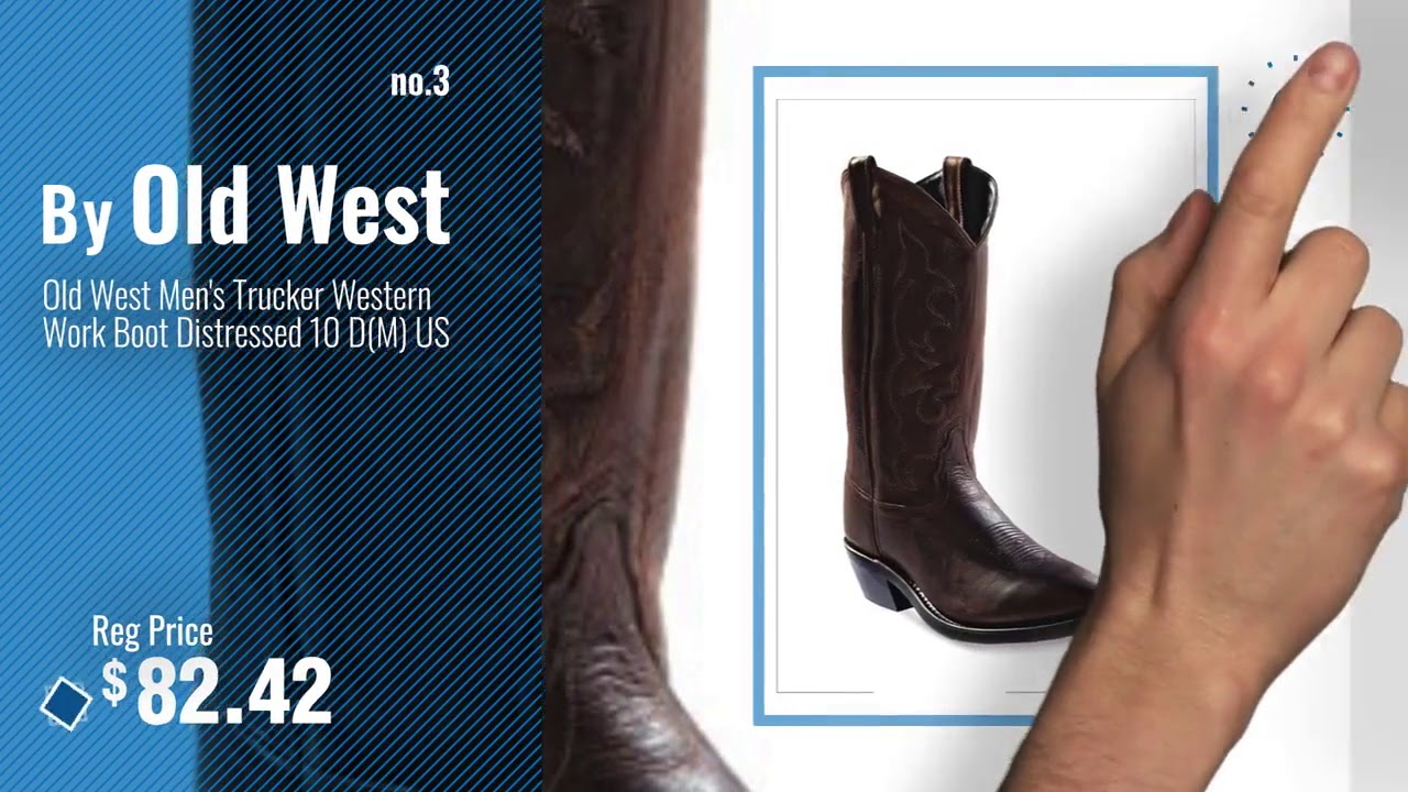 Top 10 Cowboy Boots  Winter : Ariat Men's Rambler Wide Square Toe Western Cowboy Boot,