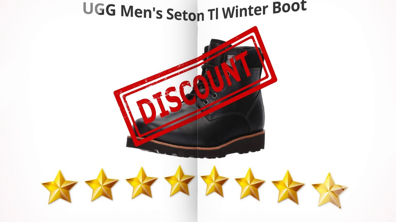 UGG Men's Seton Tl Winter Boot  | Review and Discount