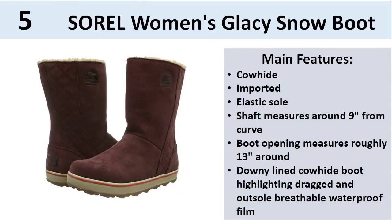 Best Snow Boots For Women Review || Best Winter Boots for Women 2017 2018