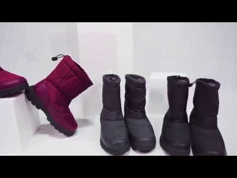Gracosy Warm Winter Shoes Fur Lining Drawstring Boots