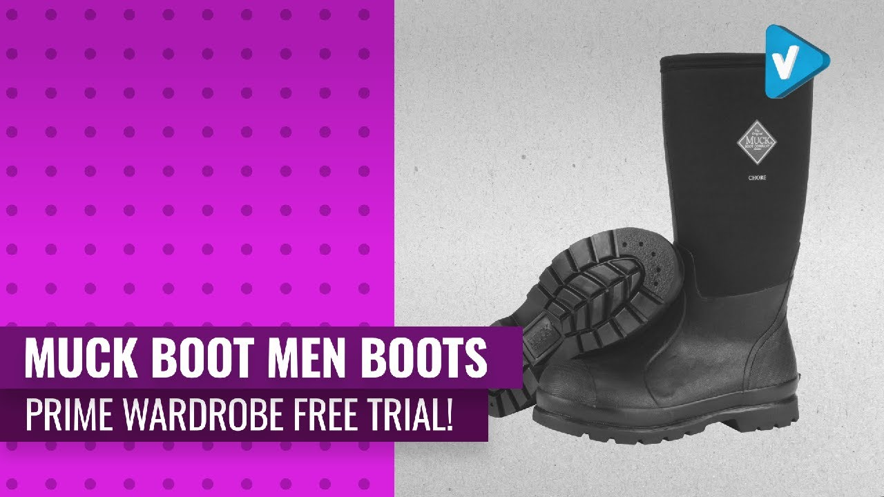 Try On Your New Muck Boot Men Boots Now On Amazon Prime Wardrobe Free Trial!