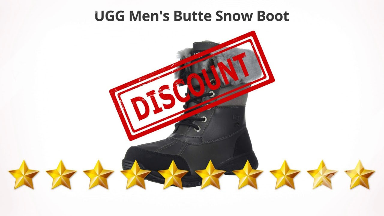 UGG Men's Butte Snow Boot  | Review and Discount