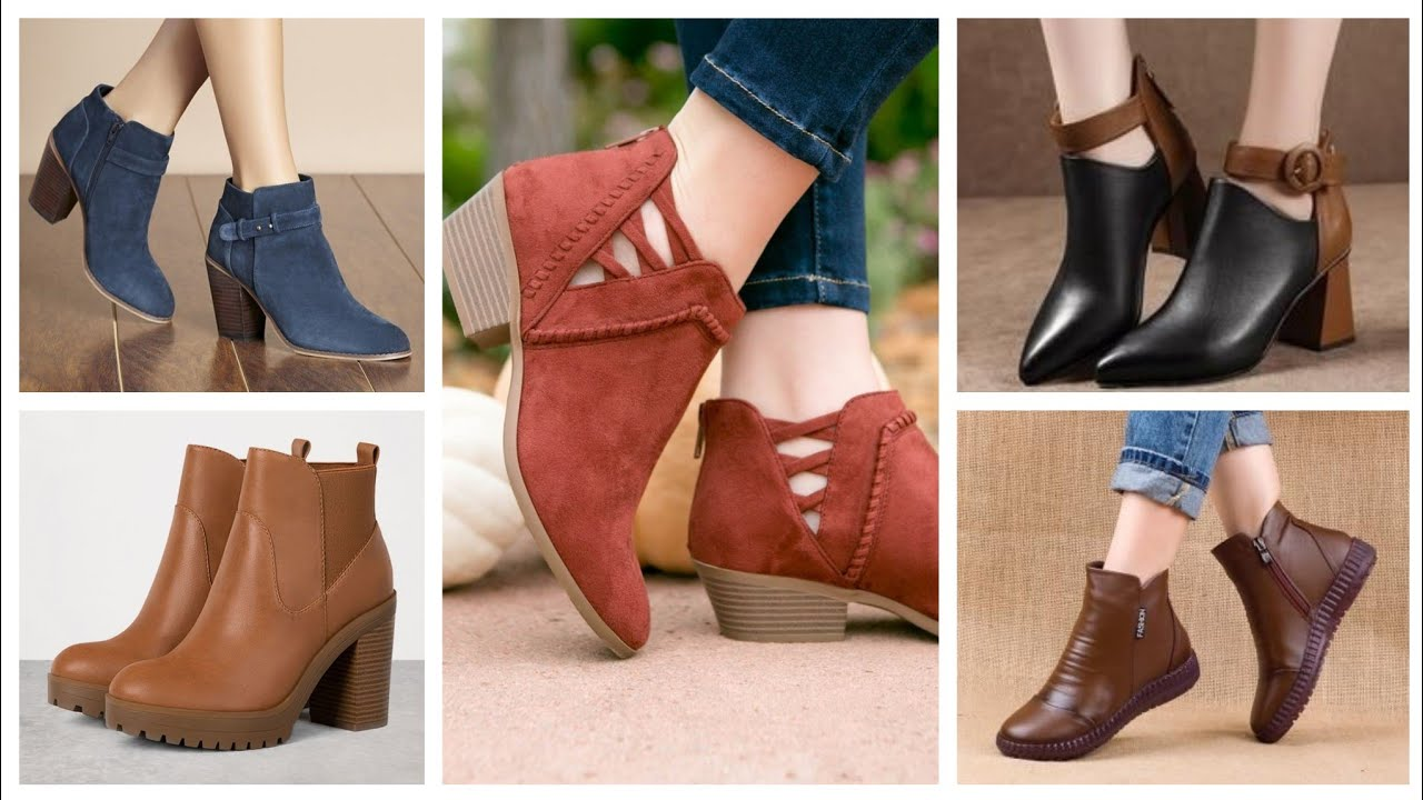 Most Demanding Women Latest Leather boots Shoes Ideas For Winter