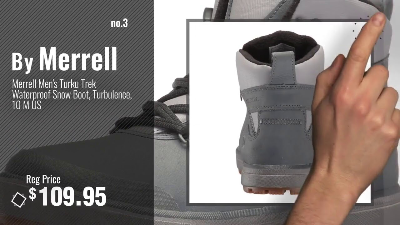 Top 10 Snow Boots Merrell  Winter : Merrell Men's Thermo Shiver 6 Waterproof Snow Boot,
