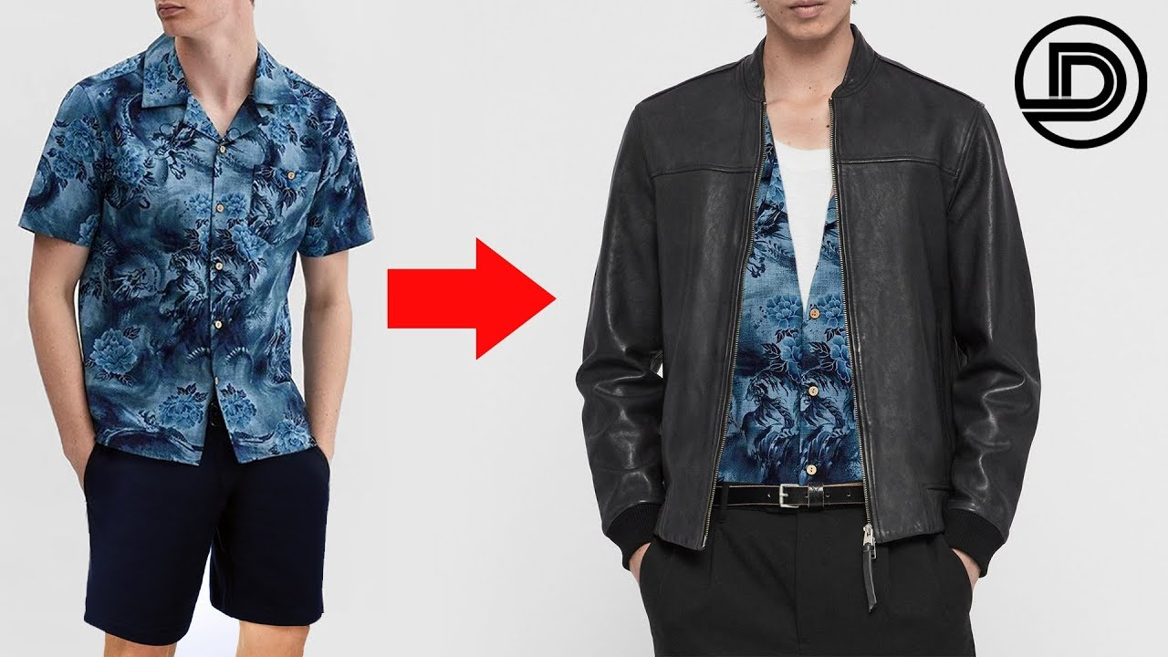 How To Wear SUMMER Items In FALL + WINTER (save $$$)