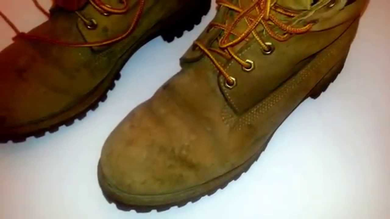 Timberland Tan Men's Boots Size 9.5 M Used Distressed Ebay Showcase Sold!