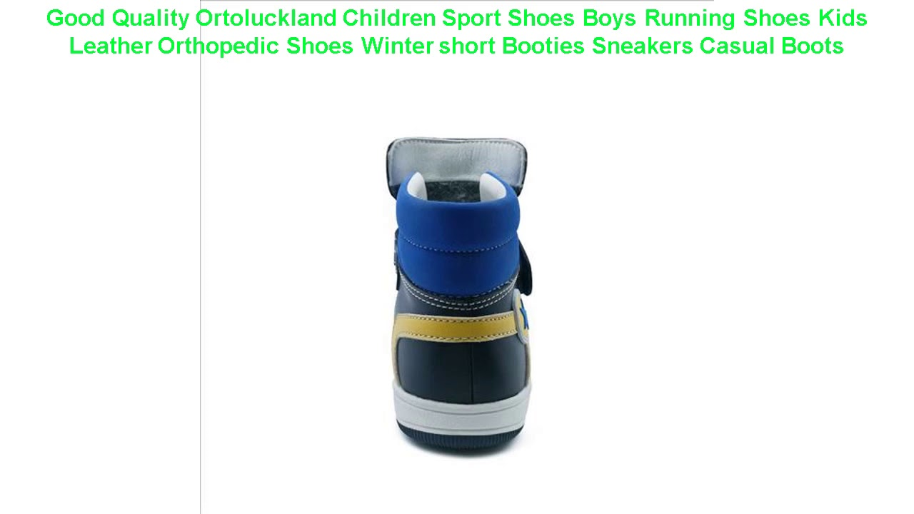 Good Quality Ortoluckland Children Sport Shoes Boys Running Shoes Kids
