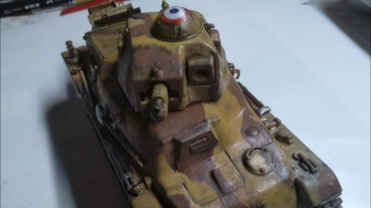 35/38(H) tank build in 1/35 scale trumpeter (00351)