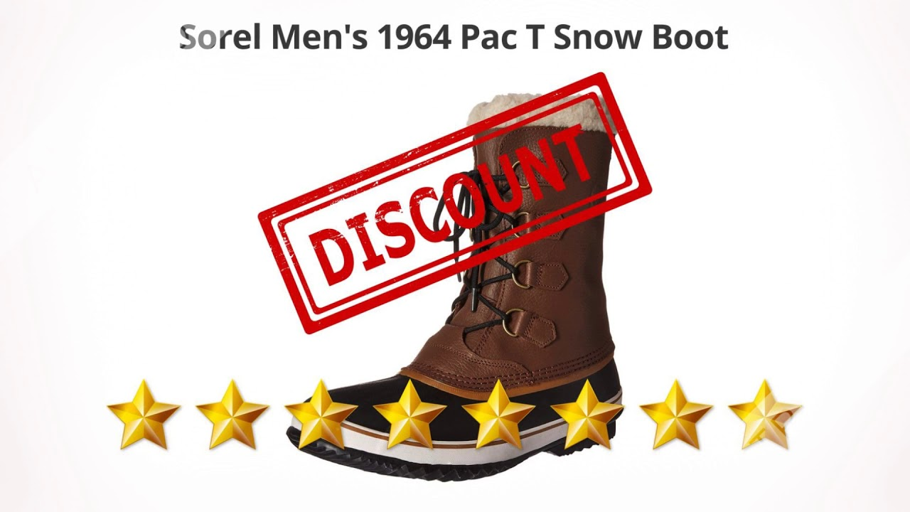Sorel Men's 1964 Pac T Snow Boot    Review and Discount