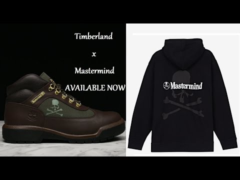 Timberland x Mastermind Fall/Winter 2019 Field Boot & Apparel AVAILABLE NOW!