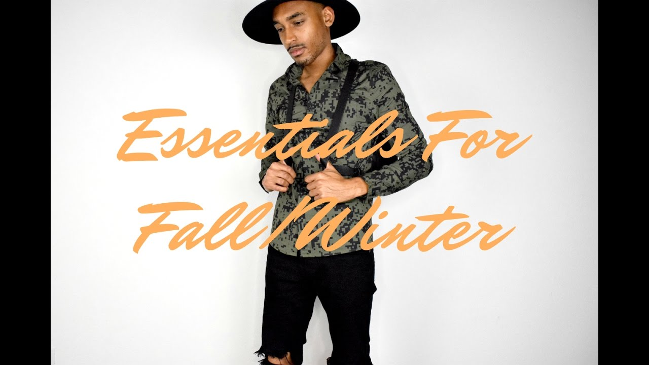 Essentials For Fall/Winter | Men's Fashion | Trends | Chelsea Boots | Bombers