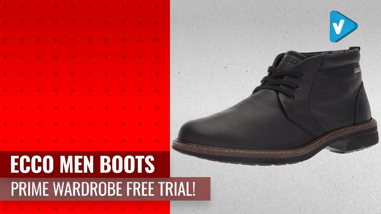 Try For Free! ECCO Men Boots Now On Amazon Prime Wardrobe Free Trial!
