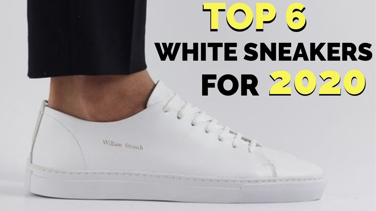 Best White Sneakers For Winter 2019/2020 – Minimalistic Sneaker Guide, No Matter Your Budget!