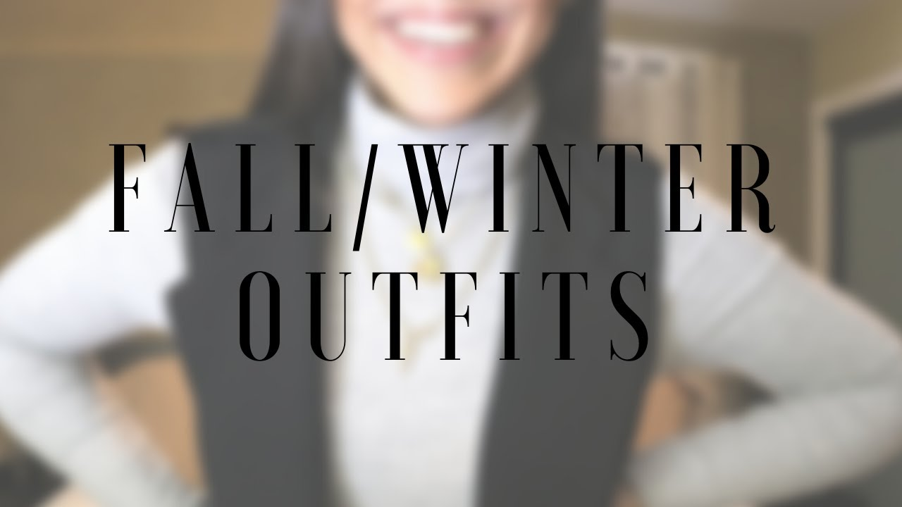 FALL/WINTER OUTFITS – for men and women | outfit ideas + trends | Mariana Costa