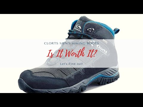 Clorts Men's Indoor and Outdoor Hiking Boots Review!