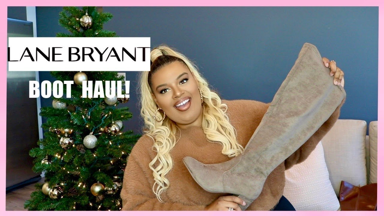 Lane Bryant Fall / Winter BOOT TRY-ON HAUL! | Thigh High Boots