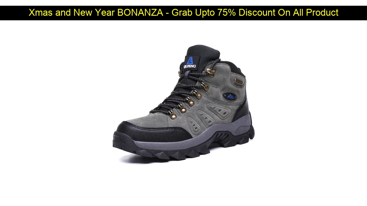 Best Seller!  New arrival Winter Pro-Mountain Outdoor Hiking Shoes For Men Women Add Fur Hiking Boo