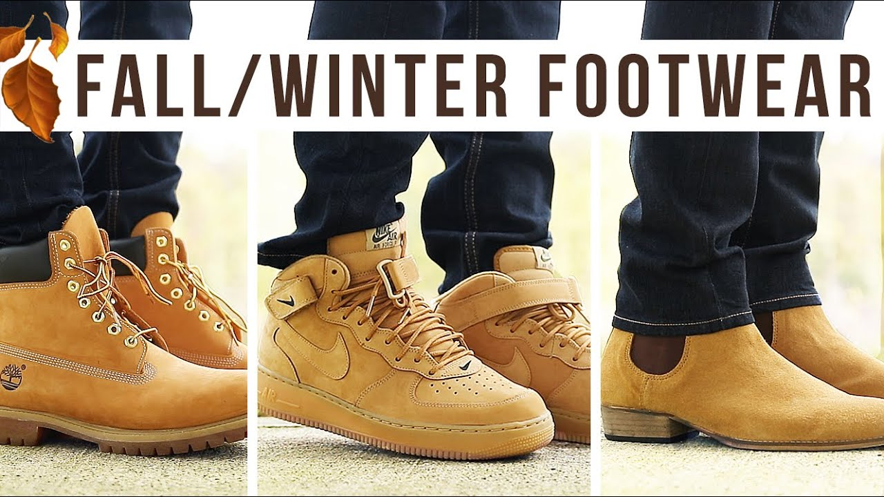 TOP 10 BOOTS & SNEAKERS FOR FALL & WINTER | Men's Fashion Footwear | I AM RIO P.