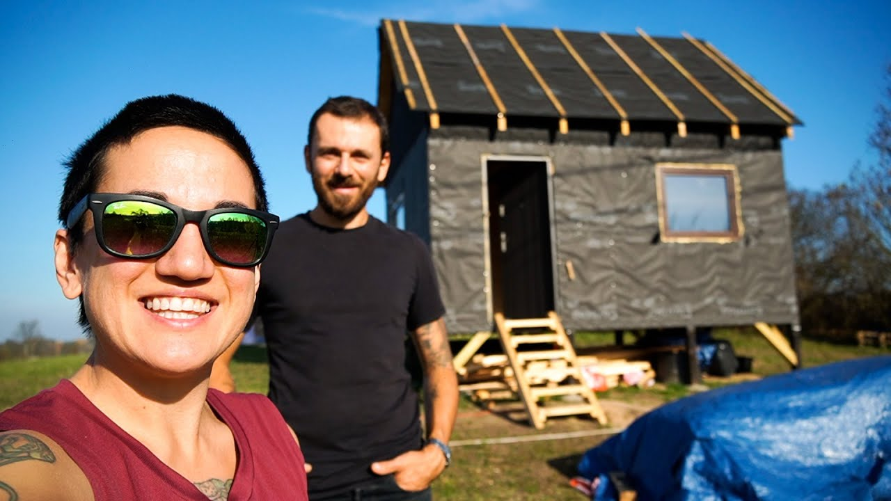 We Built This House In TWO MONTHS! Tiny House Tour