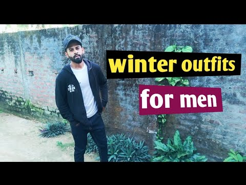 Four simple winter outfits for men|Assamese video
