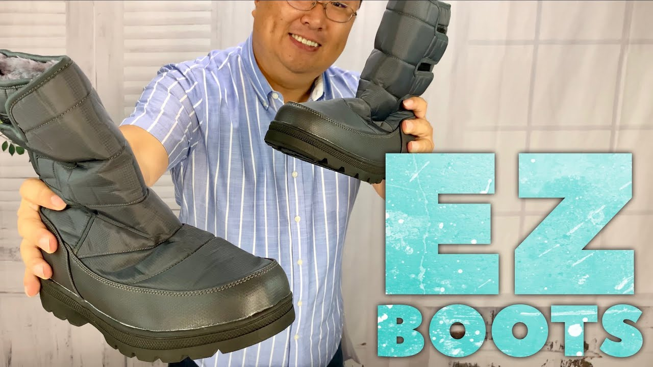 Best Easy Velcro Snow Boot Review