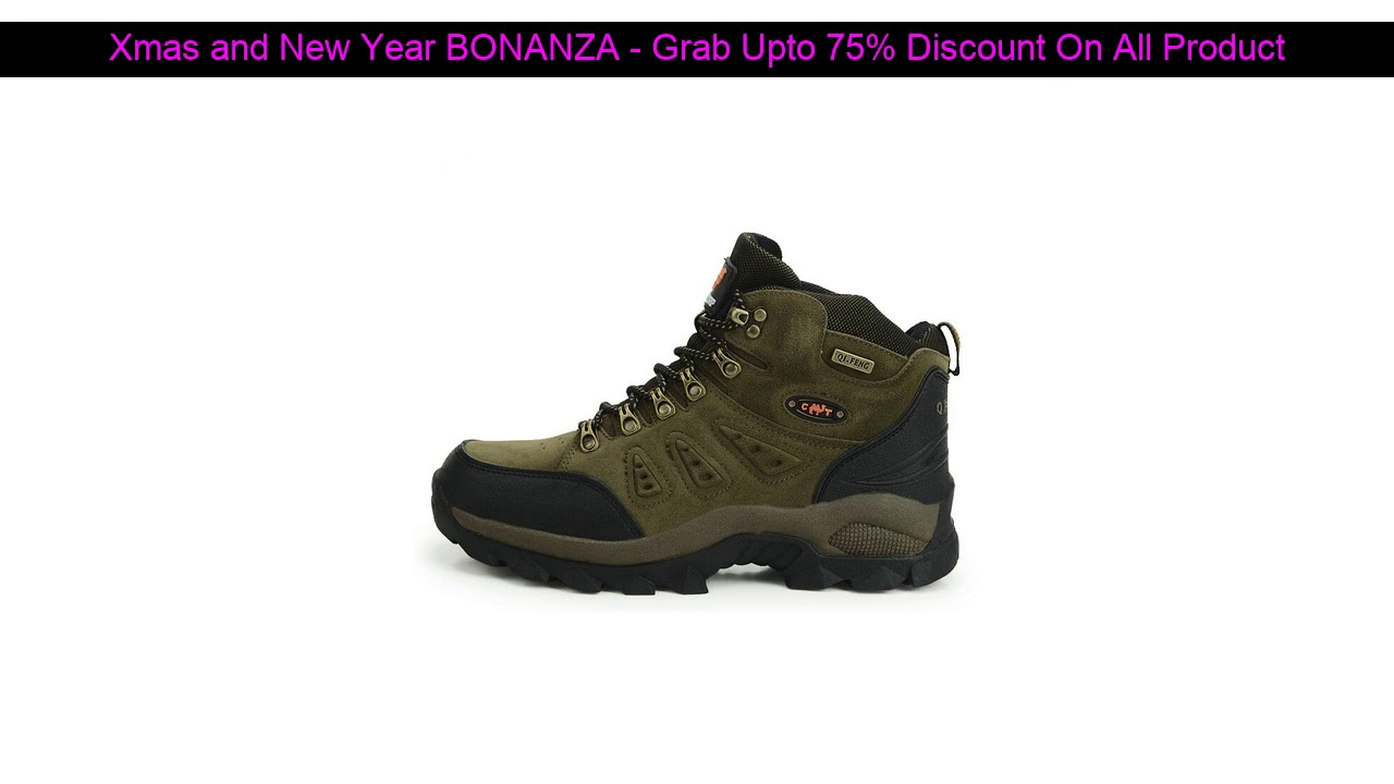 Big Promo!  Hot Sale Classic Pro-Mountain Ankle Hiking Boots For Men & WomenCouple Outdoor Sports T