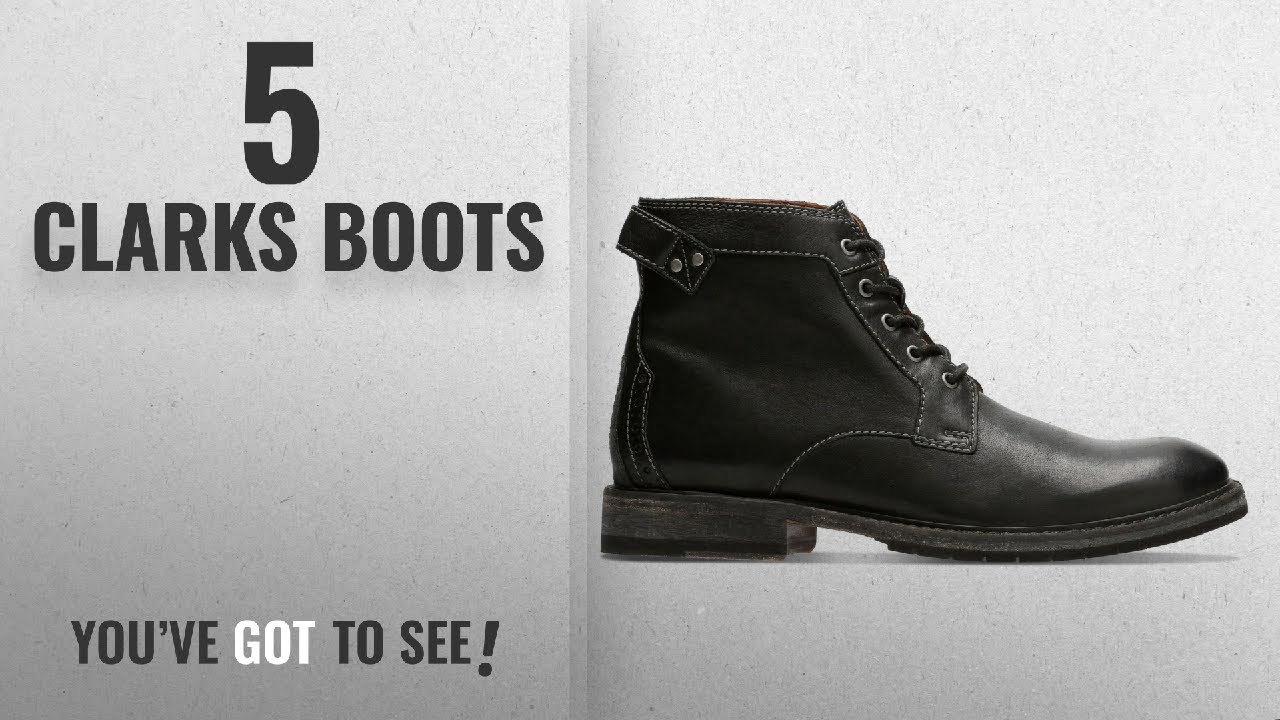 Top 10 Clarks Boots [2018]: Clarks Men's Clarkdale Bud Classic Boots