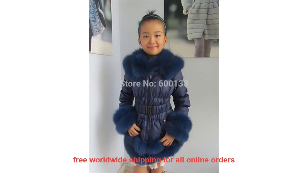 Very Cheap Free Shipping New Style Winter Child Down Coat / Popular Do