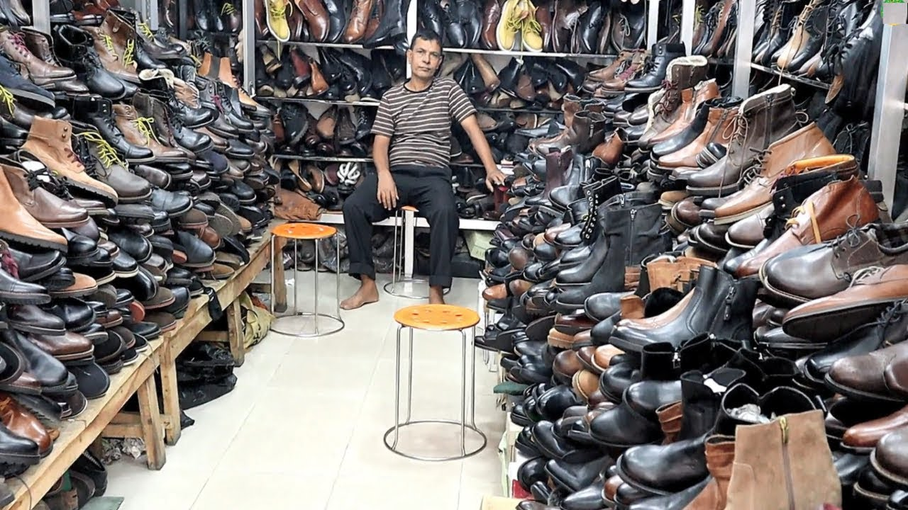 100% Leather Export Quality Boots Factory Price Men's Style Winter Shoes Cheapest Price Shoes Market