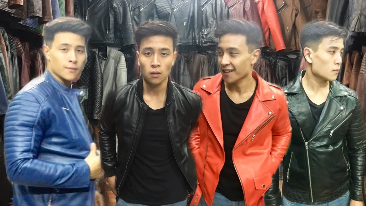 PURE LEATHER JACKETS IN DELHI | BIKER ,RODIES ,BOMBER,CAFE RACER,LONG COATS,WINTER STOCK