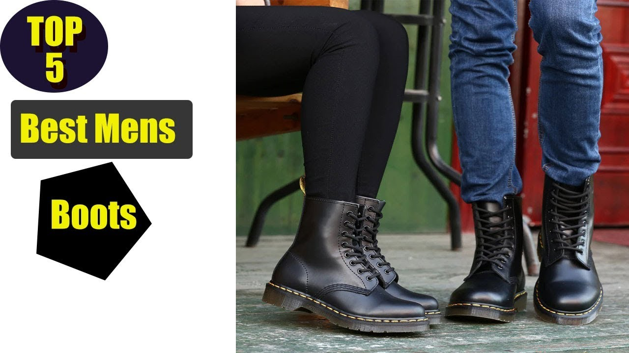 Top 5 Best Men's Boots