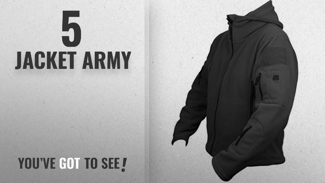 Top 10 Jacket Army [2018]: Savage Island Mens Tactical Military Army Combat US British Fleece Recon