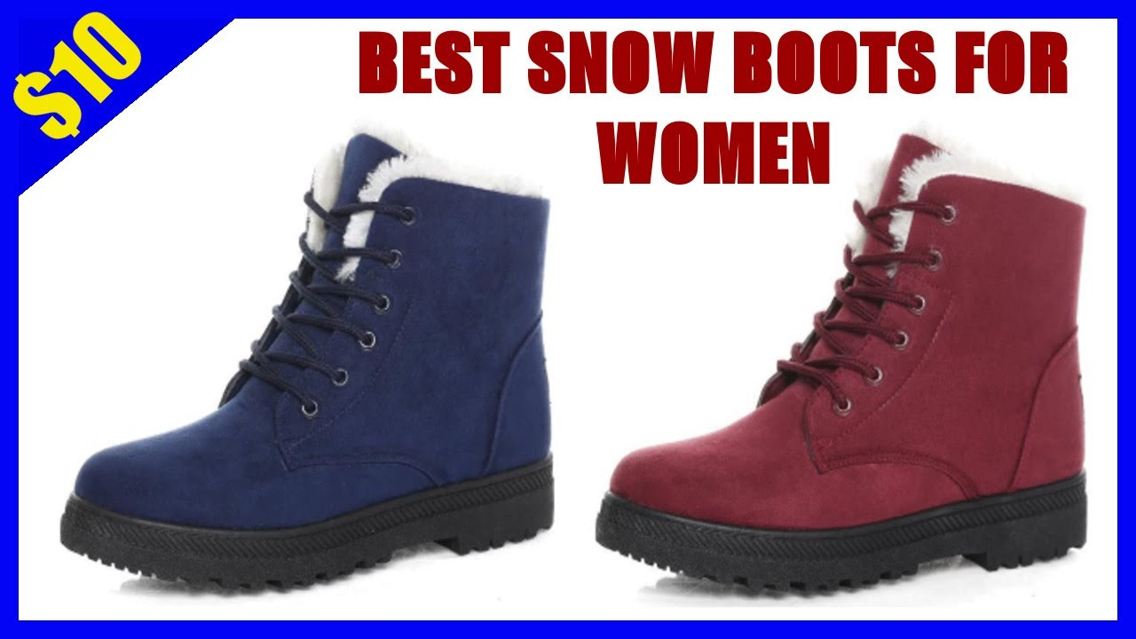 BEST SNOW BOOTS FOR WOMEN – BEST OF ALIEXPRES