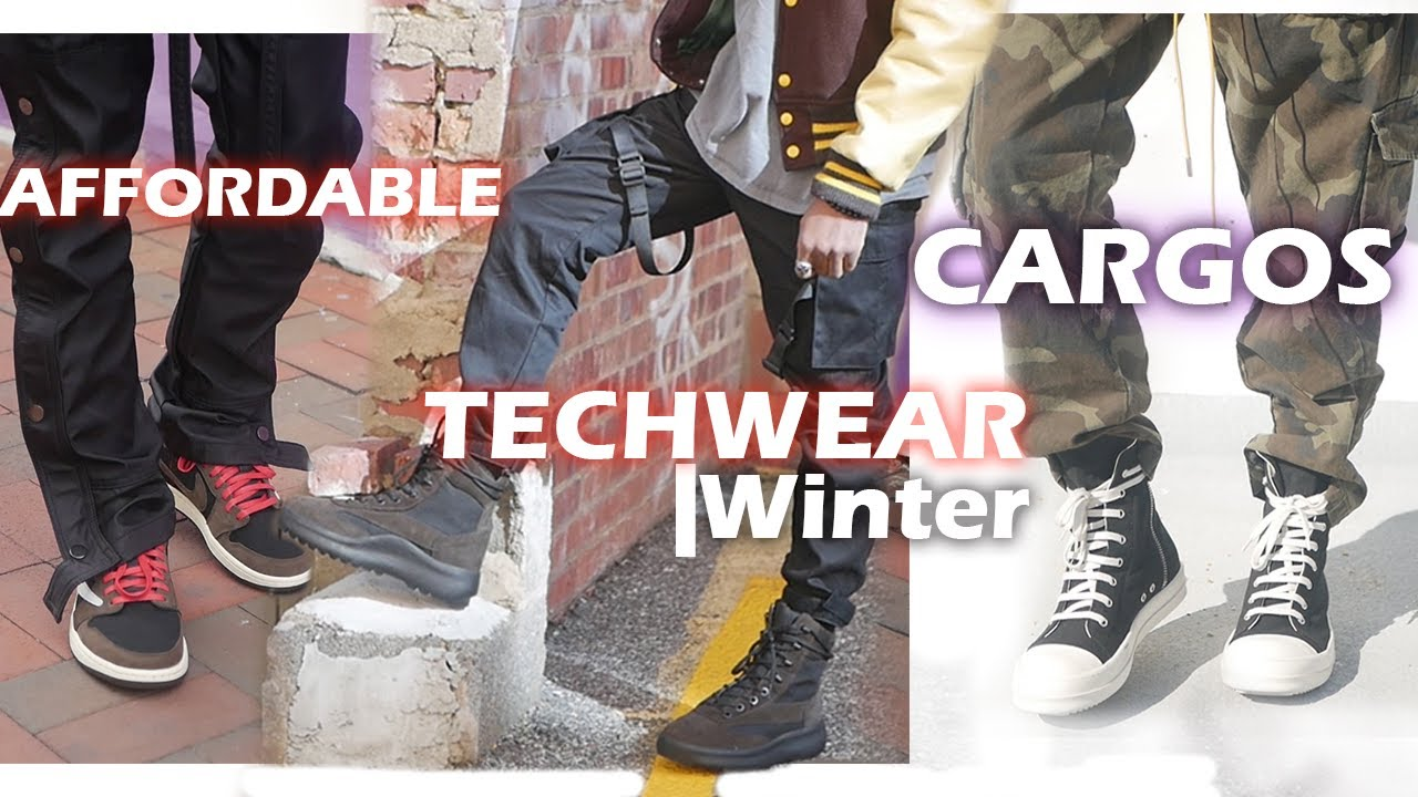 BEST Cargos To wear With Boots This Winter |Techwear Ouftits| Acronynm , Mnml, rothco