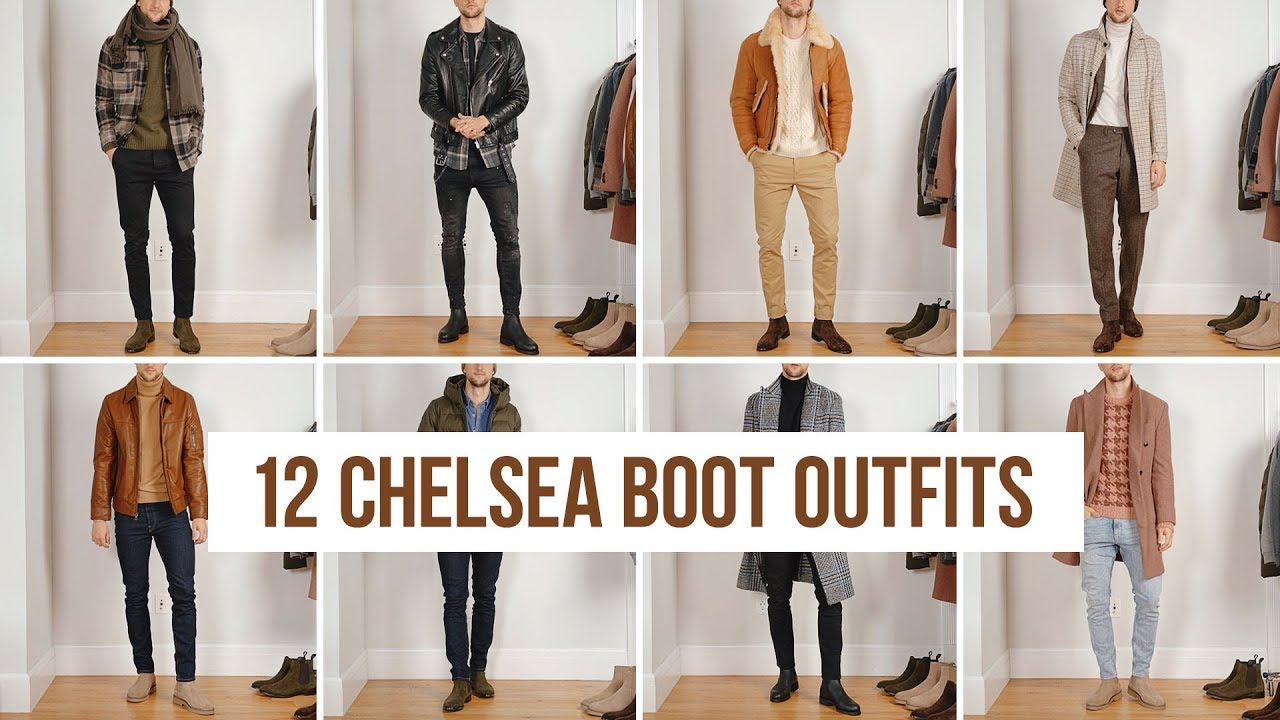 12 Ways to Style Chelsea Boots (Fall/Winter) | Outfit Ideas | Men's Fashion