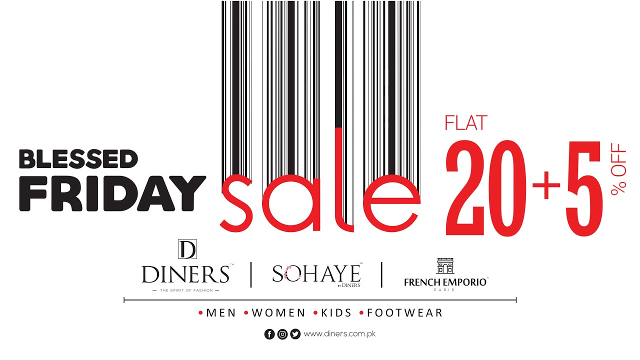 Blessed Friday Sale FLAT 20+5% OFF on men, women, kids and footwear