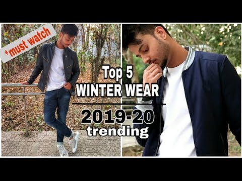 5 Must Have WINTER WEAR FOR MEN (in 3 Minutes) | JACKETS And HOODIES