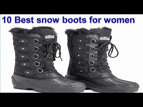 10 Best Snow Boots for Women in 2020