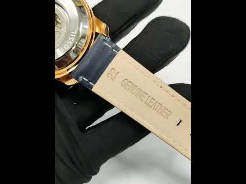Automatic Leather Belt Watch